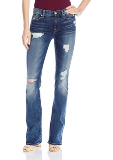 7 For All Mankind Women's Bootcut with Destroy