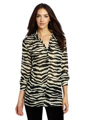 7 For All Mankind Women's Chiffon Blouse