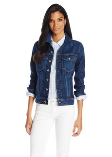 7 For All Mankind Women's Classic Denim Jacket in  M