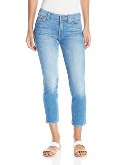 7 For All Mankind Women's Cropped Hw Vintage Straight Leg Jean in