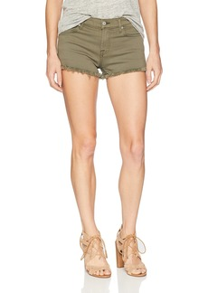7 For All Mankind Women's Cut Off Short