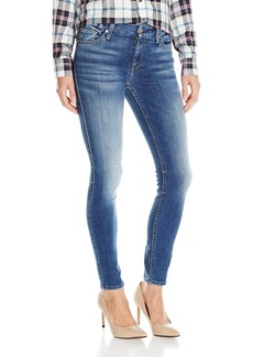 7 For All Mankind Women's Distress Ankle Skinny Jean