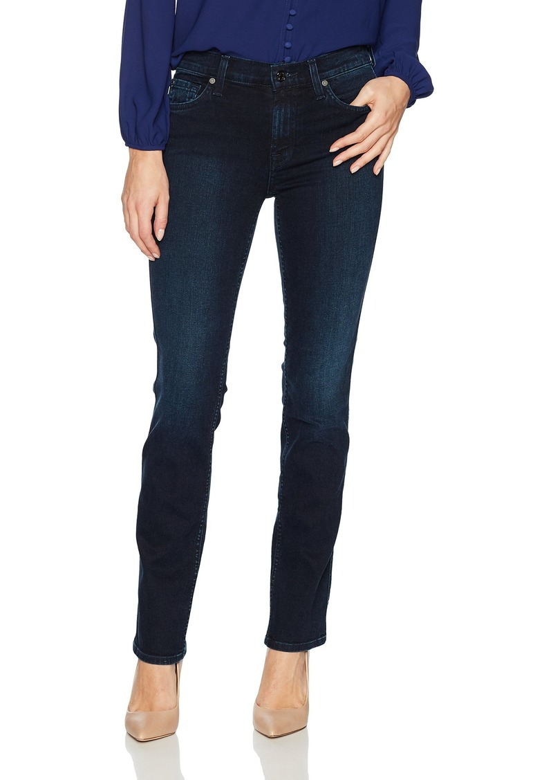 7 For All Mankind Women's Dylan Straight Leg Jean SMOKDIND