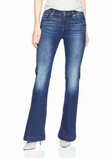 7 For All Mankind Women's Flare Wide Leg Jean