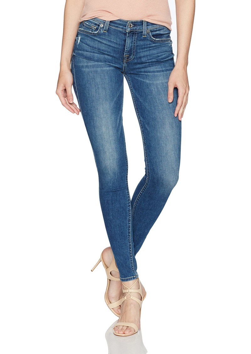 7 For All Mankind Women's Gwenevere Skinny Mid Rise Jeans