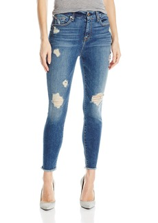 7 For All Mankind Women's High-Waist Ankle Skinny Jean