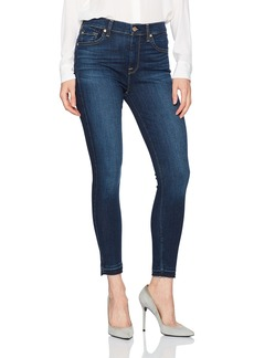 7 For All Mankind Women's High Waist Ankle Skinny Jean with Released Hem
