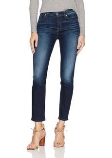7 For All Mankind Women's High Waist Roxanne Ankle Jean