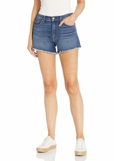 7 For All Mankind womens for All Mankind Jeans Denim Shorts   US