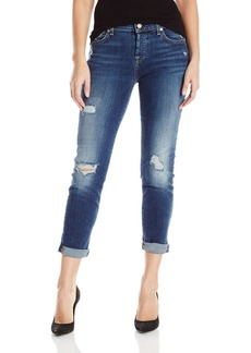 7 For All Mankind Women's Josefina Jean with Destroy
