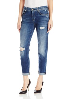 7 For All Mankind Women's Josefina Jean with Destroy  28