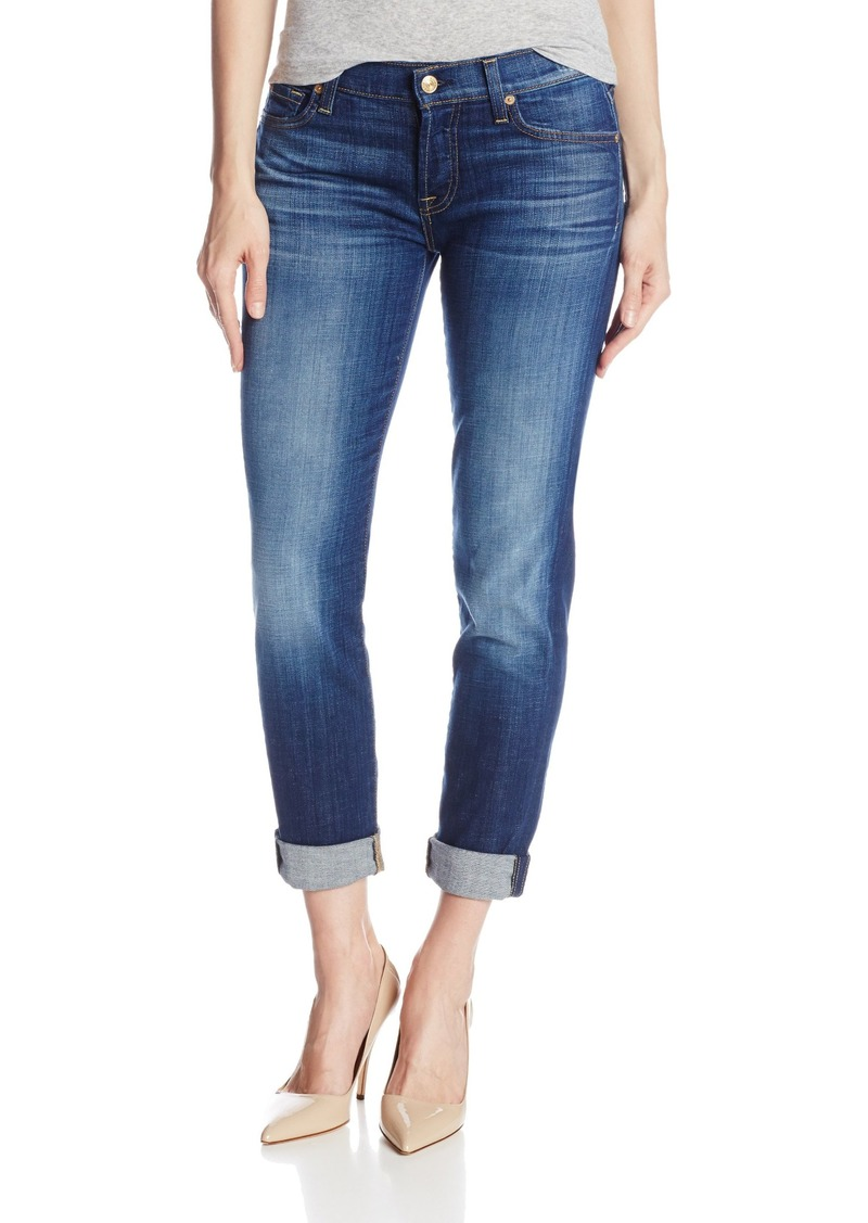 7 For All Mankind Women's Josephina with Rolled Hem Jean
