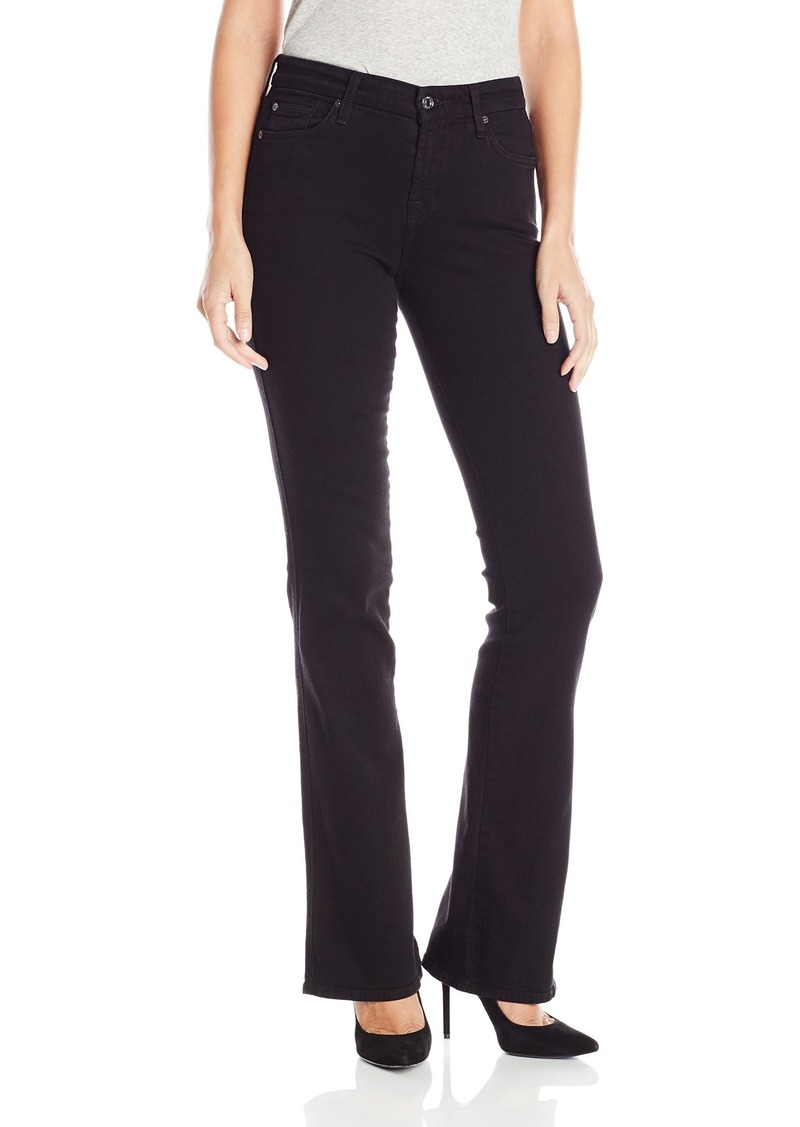 7 For All Mankind Women's Kimmie Bootcut in Overdye