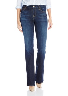 7 For All Mankind Women's Kimmie Bootcut Jean In Slim Illusion Tried and True Blue  24