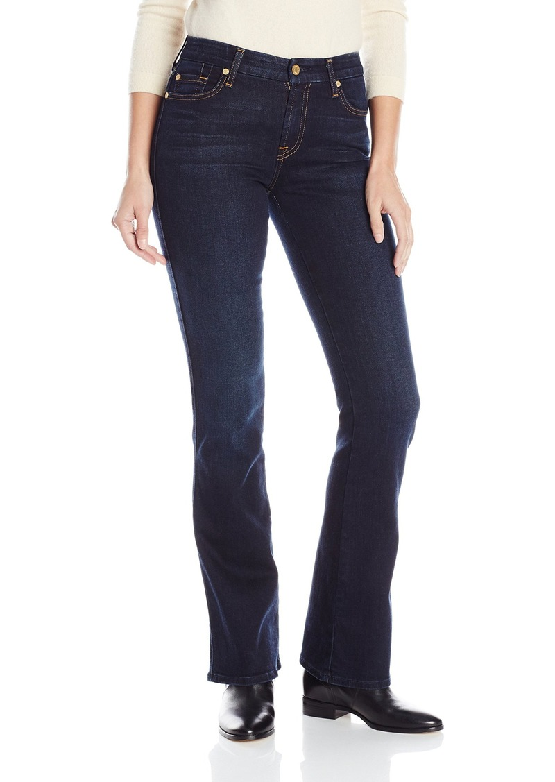 7 for all mankind 7 for all mankind women 39 s kimmie bootcut slim illusion jean casual pants. Black Bedroom Furniture Sets. Home Design Ideas