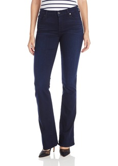 7 For All Mankind Women's Kimmie Bootcut Slim Illusion Luxe Jean in