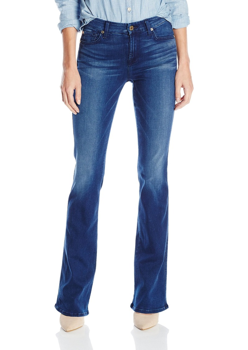 7 for all mankind 7 for all mankind women 39 s kimmie bootcut slim illusion luxe jean in heritage. Black Bedroom Furniture Sets. Home Design Ideas
