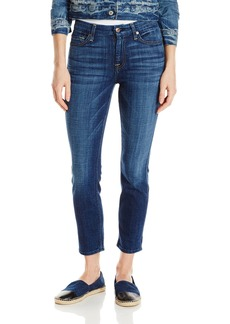 7 For All Mankind Women's Kimmie Crop Jean in Brillian  25