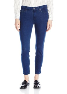 7 For All Mankind Women's Kimmie Crop Slim Illusion Luxe Jean in