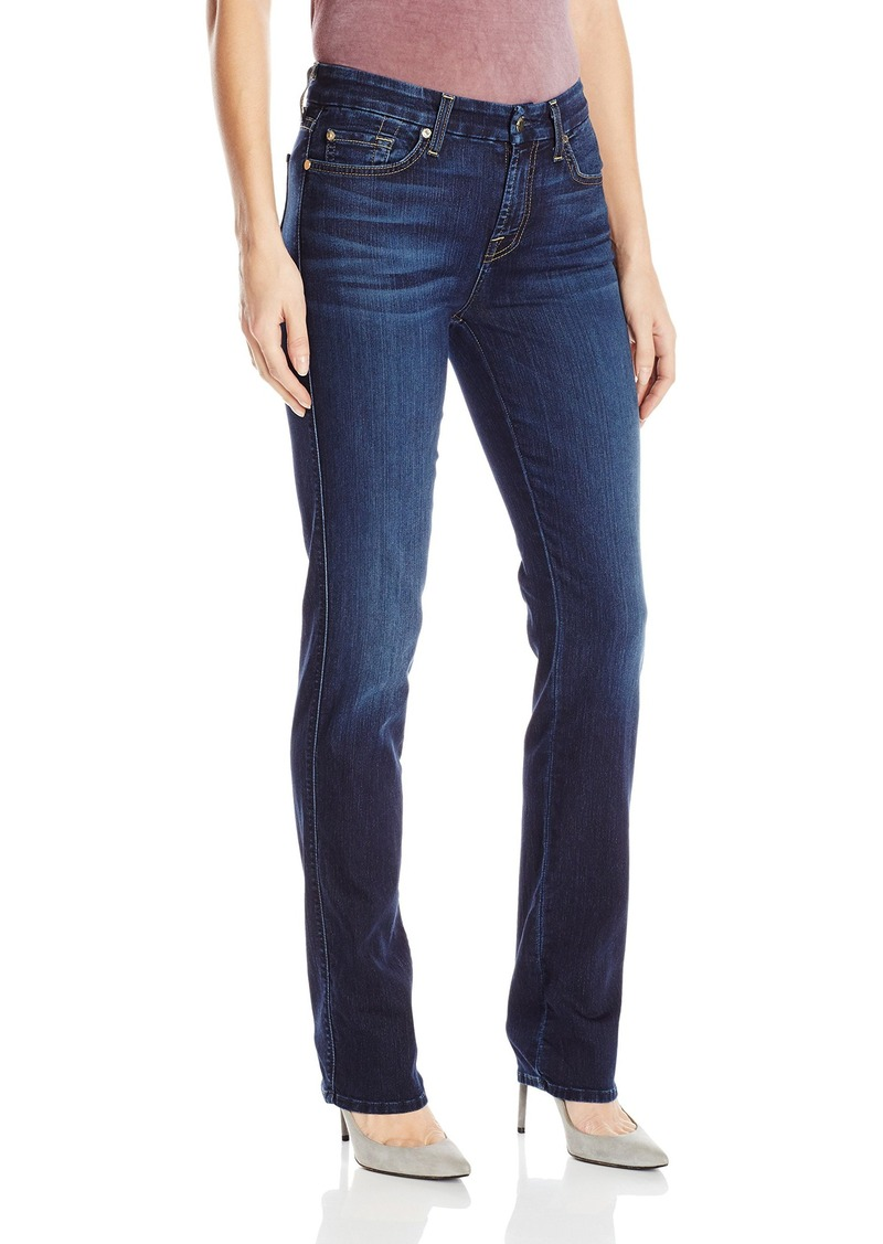 7 For All Mankind Women's Kimmie Straight Jean in  28