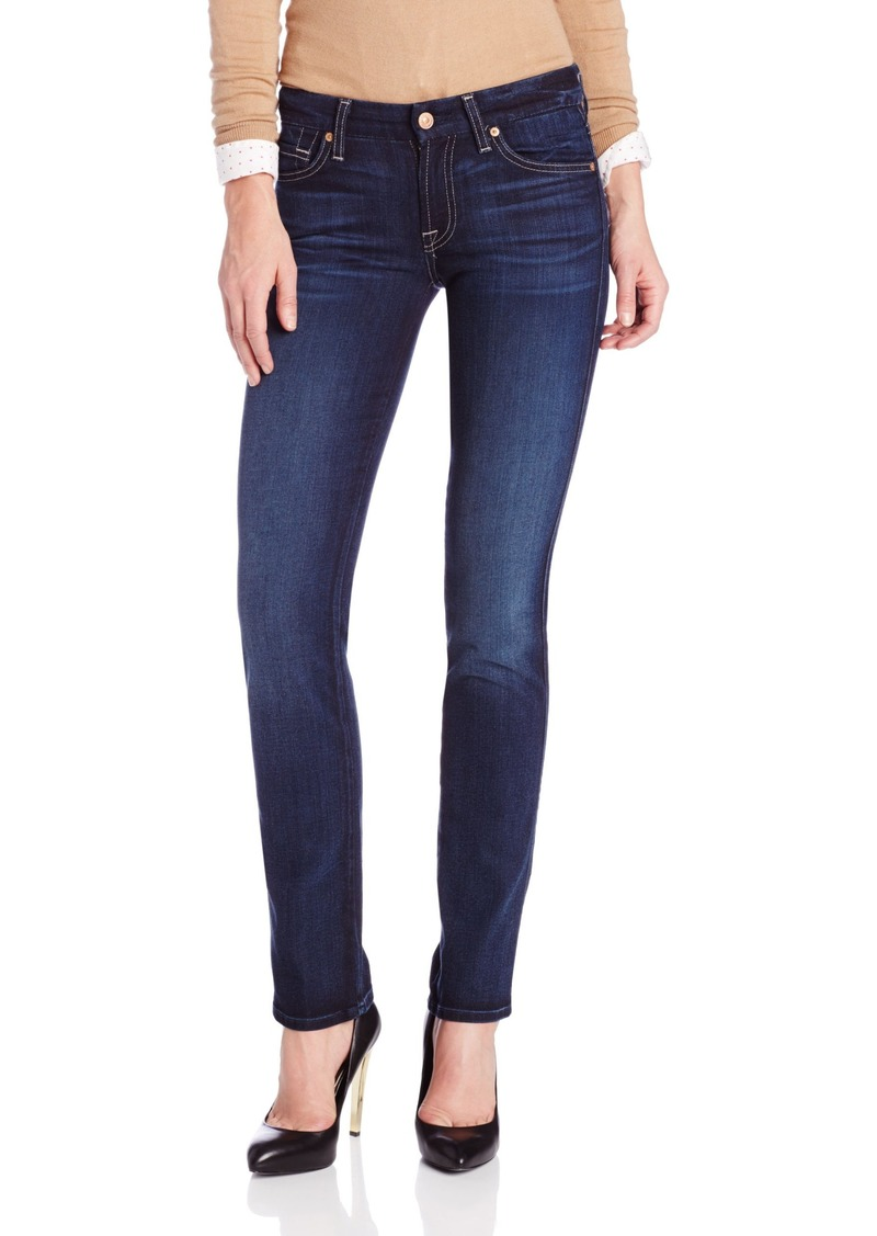 7 For All Mankind Women's Kimmie Straight-Leg Jean in