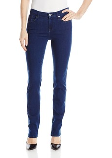 7 For All Mankind Women's Kimmie Straight-Leg Slim Illusion Luxe Jean in