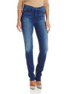 7 For All Mankind Women's Kimmie Straight Slim Illusion Luxe Jean in