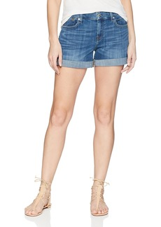 7 For All Mankind Women's Mid Roll Short
