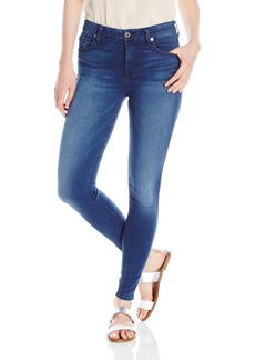 7 For All Mankind Women's Midrise Ankle Skinny Slim Illusion Luxe Jean
