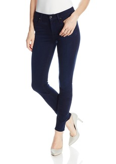 7 For All Mankind Women's Midrise Skinny Slim Illusion Luxe Jean in