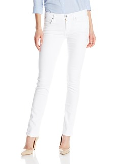 7 For All Mankind Women's Modern Straight Jean in Clean White Clean White