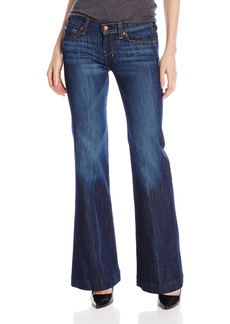 7 For All Mankind Women's Petite Size Dojo Flared Jean in