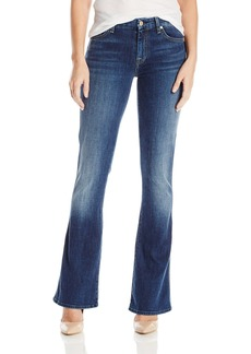 7 For All Mankind Women's Petite Size Tailorless a Pocket Jean (Short Inseam)