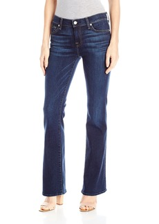 7 For All Mankind Women's Petite Size Tailorless Bootcut