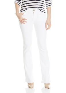 7 For All Mankind Women's Petite Tailorless Bootcut with Released Hem Jean In