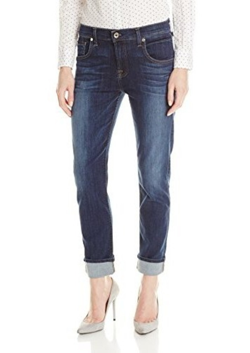 7 for all mankind 7 for all mankind women 39 s relaxed skinny jean heritage medium dark 26. Black Bedroom Furniture Sets. Home Design Ideas