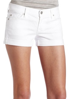 7 For All Mankind Women's Roll-Up Short