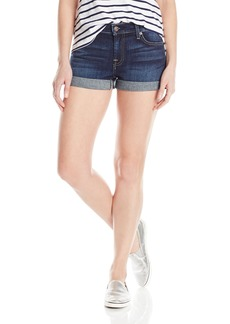 7 For All Mankind Women's Roll Up Short