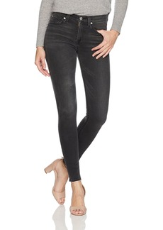 7 For All Mankind Women's Roxanne Ankle Jean with Raw Hem