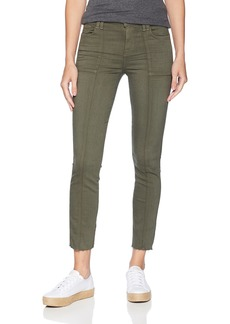 7 For All Mankind Women's Roxanne Ankle Sandwashed Twill Jean