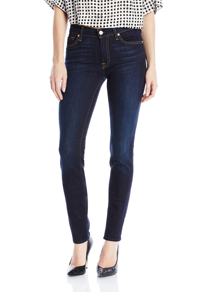 7 for all mankind 7 for all mankind women 39 s roxanne original skinny jean in denim shop it to me. Black Bedroom Furniture Sets. Home Design Ideas