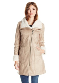 7 For All Mankind Women's Shearling Coat