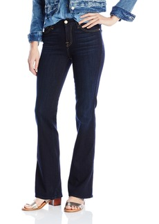 7 For All Mankind Women's Short Inseam Bootcut Jean