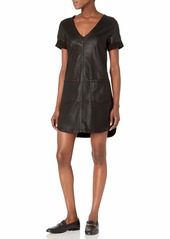 7 For All Mankind Women's Short Sleeve Popover Dress  L