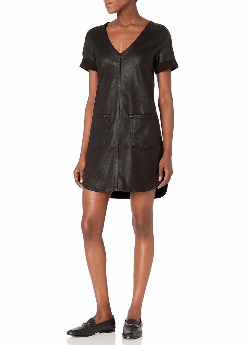 7 For All Mankind Women's Short Sleeve Popover Dress  L