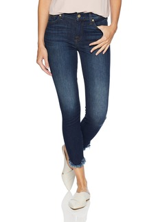 7 For All Mankind Women's Skinny Cropped Jean Ankle Pant