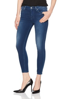7 For All Mankind Women's Skinny Dark Wash Jean Ankle Pant