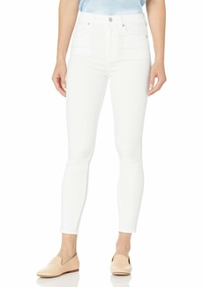 7 For All Mankind Women's Skinny Fit High Rise Ankle Jeans