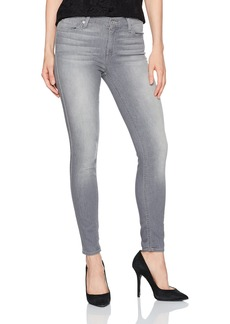 7 For All Mankind Women's Skinny Grey Jean Ankle Pant Skies