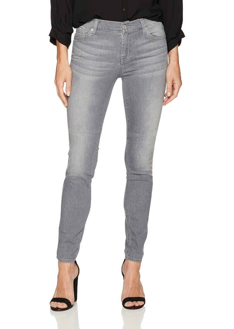 7 For All Mankind Women's Skinny Grey Jean Ankle Pant Sky